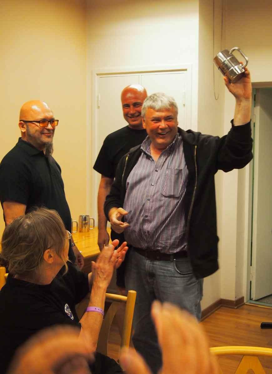 """Ulf, saksasta tulleen isoimman porukan """"matkanjohtaja"""""""